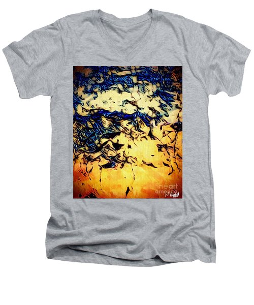 Falling Sky Men's V-Neck T-Shirt