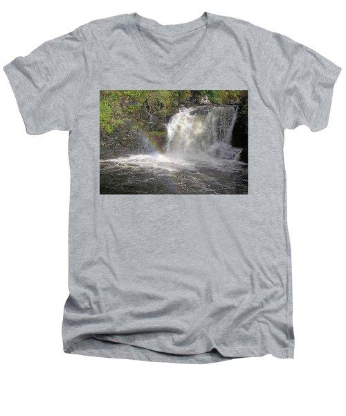 Falloch Rainbow Men's V-Neck T-Shirt