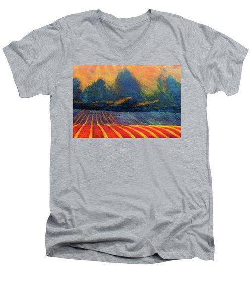 Fallow Field 2 Men's V-Neck T-Shirt