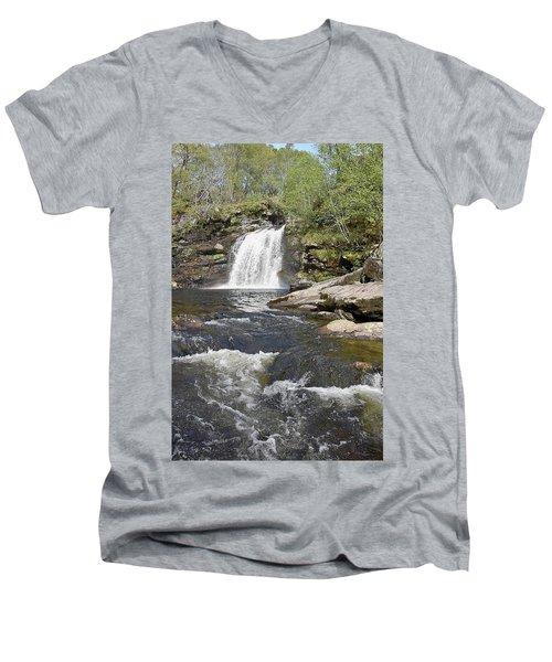 Falls Of Falloch Men's V-Neck T-Shirt