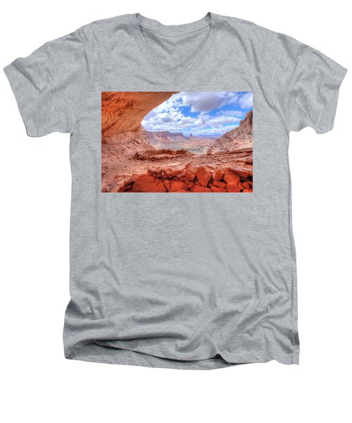 False Kiva Men's V-Neck T-Shirt
