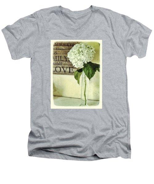 Family, Home, Love Men's V-Neck T-Shirt