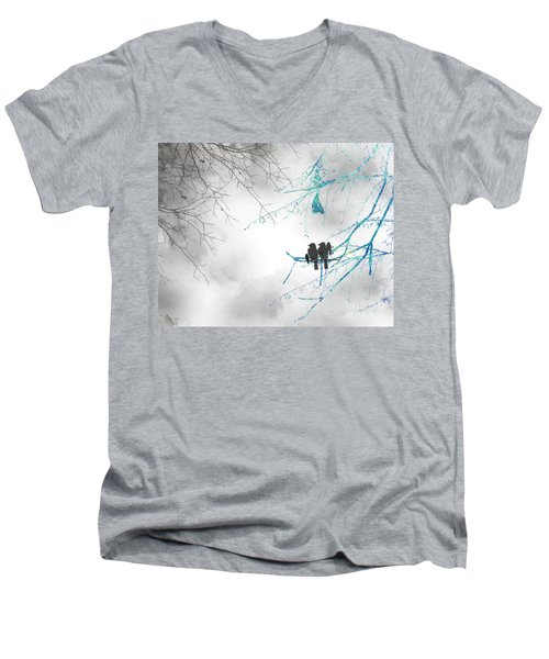 Family Togetherness Men's V-Neck T-Shirt