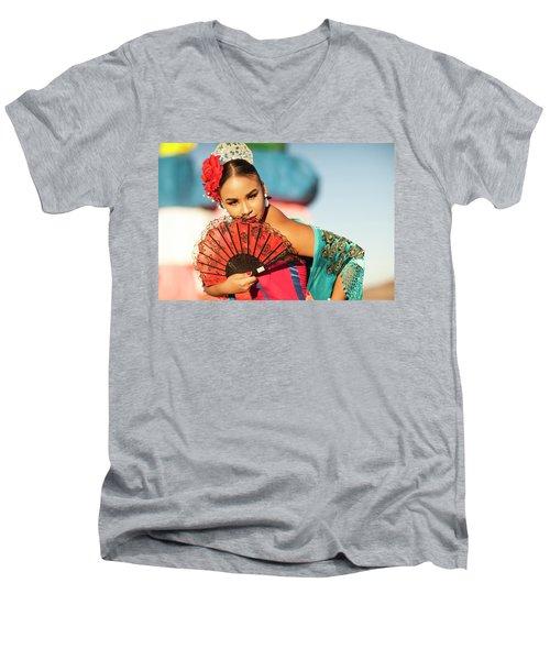Fan Cathy Men's V-Neck T-Shirt
