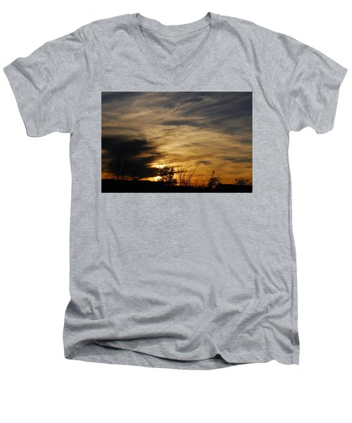 Fantastic Sunet Men's V-Neck T-Shirt