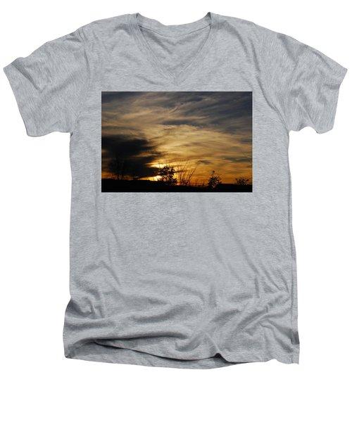 Fantastic Sunet Men's V-Neck T-Shirt