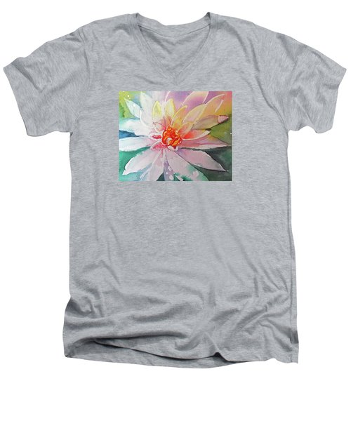 Fantasy Flower Men's V-Neck T-Shirt