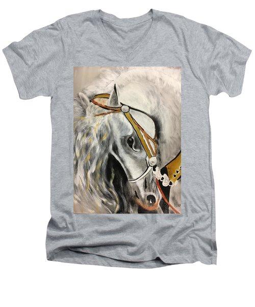 Fantasy Horse Men's V-Neck T-Shirt