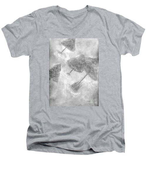 Fantasy Trees Men's V-Neck T-Shirt