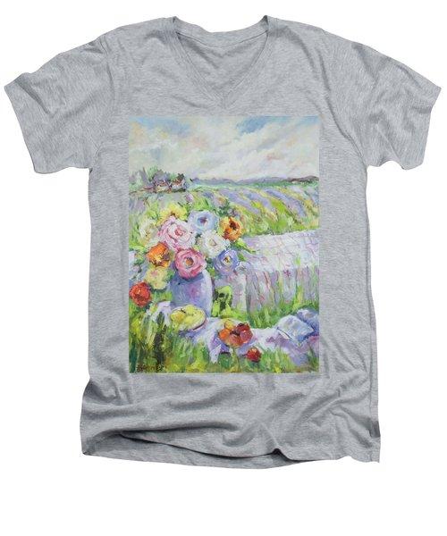 Far Away Men's V-Neck T-Shirt