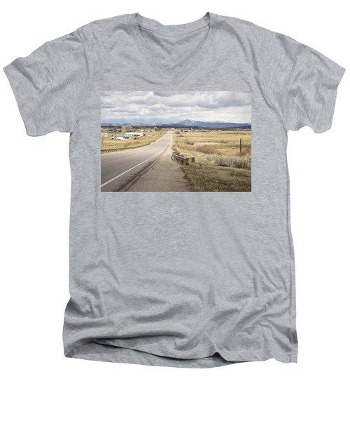 Far Horizon Men's V-Neck T-Shirt
