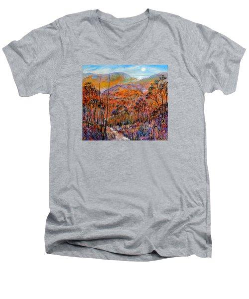 Faraway Kingdom Men's V-Neck T-Shirt