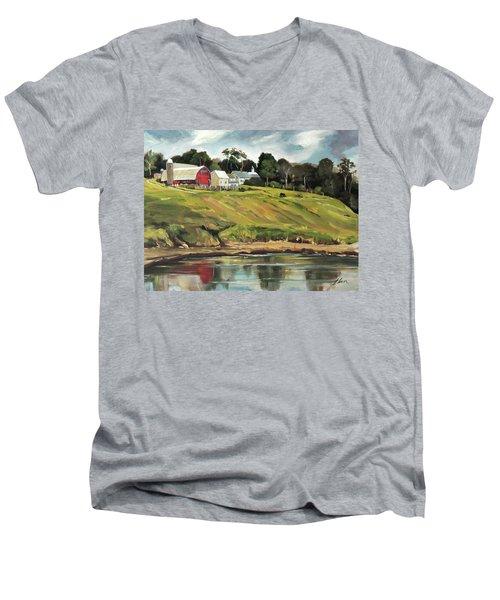 Farm At Four Corners Men's V-Neck T-Shirt