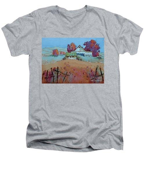 Farm Charm Men's V-Neck T-Shirt