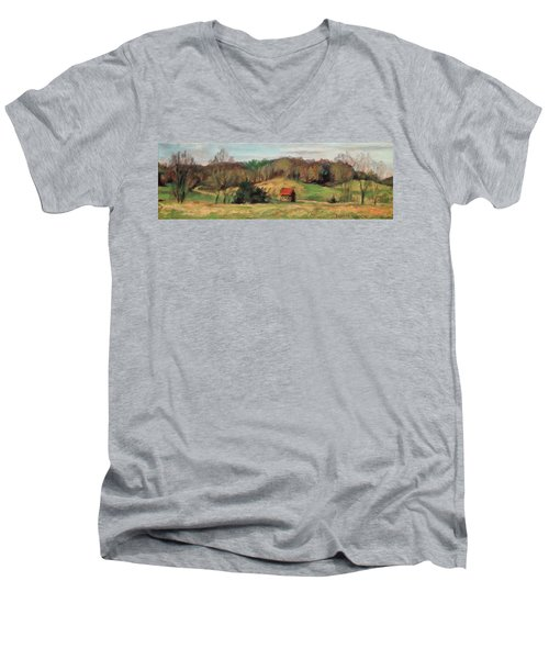 Farm Country Men's V-Neck T-Shirt