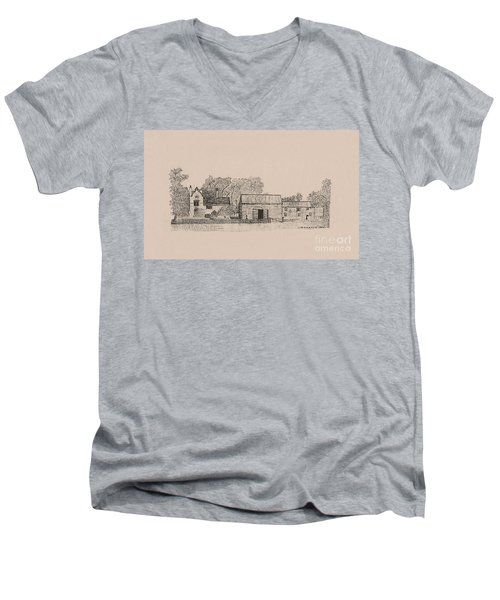 Farm Dwellings Men's V-Neck T-Shirt