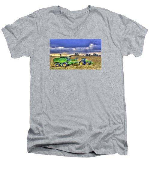 Farm Harvest 1 Men's V-Neck T-Shirt