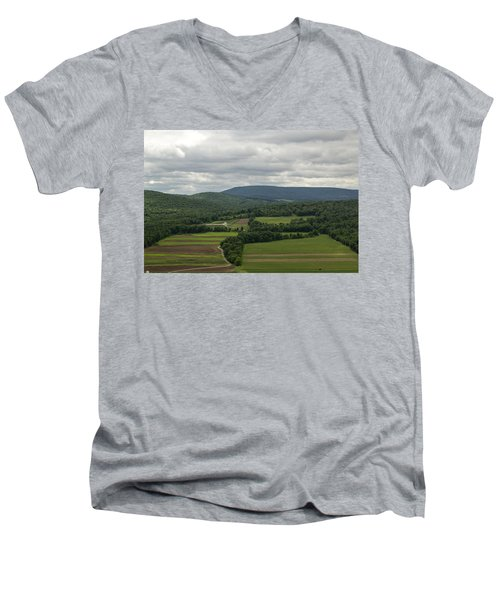 Farm Land Men's V-Neck T-Shirt