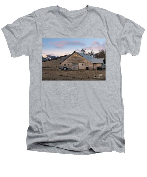 Farm Reflections Men's V-Neck T-Shirt