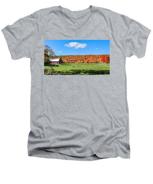 Farm View From Russellville Road Men's V-Neck T-Shirt