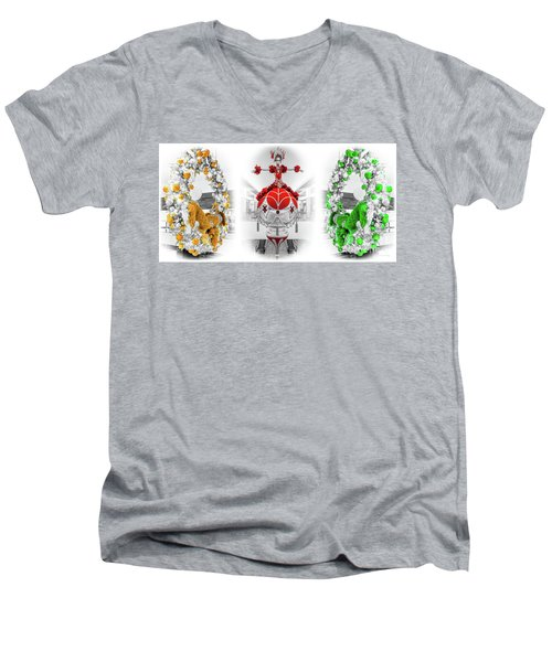 Fashion Show Christmas Ornament Collection Men's V-Neck T-Shirt