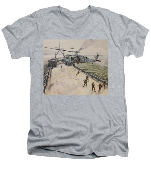 Fast Rope Men's V-Neck T-Shirt