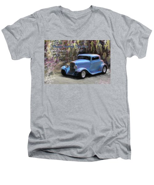 Fathers Day Classic Dad Men's V-Neck T-Shirt