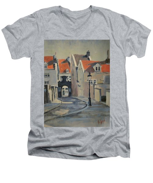 Fathers Gate Maastricht Men's V-Neck T-Shirt