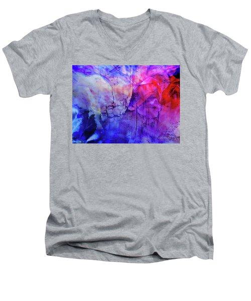 Faux Chasm Men's V-Neck T-Shirt
