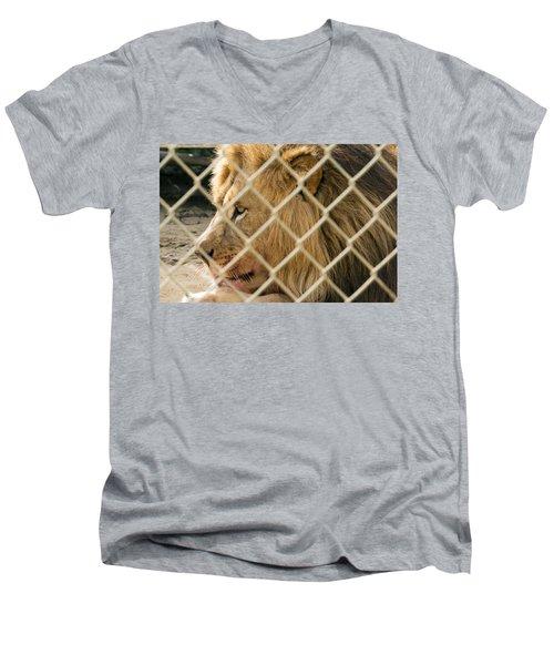 Feast For A King Men's V-Neck T-Shirt