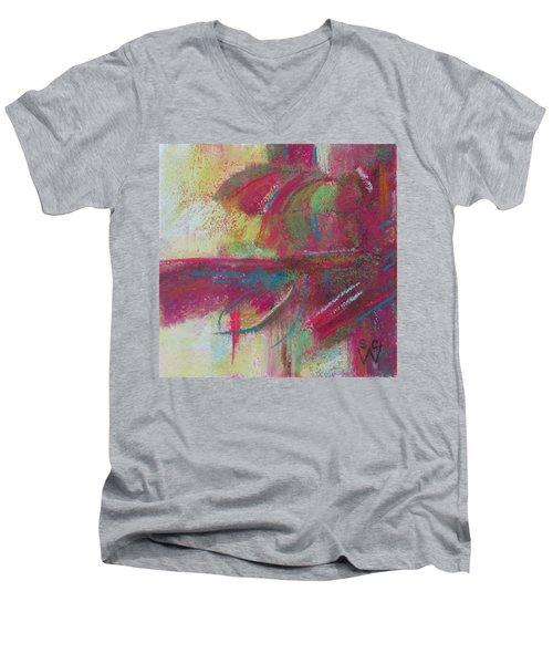 Feathering Men's V-Neck T-Shirt by Susan Woodward