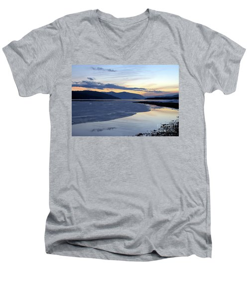 February At Dusk 5 Men's V-Neck T-Shirt