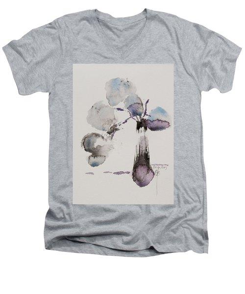 February Men's V-Neck T-Shirt