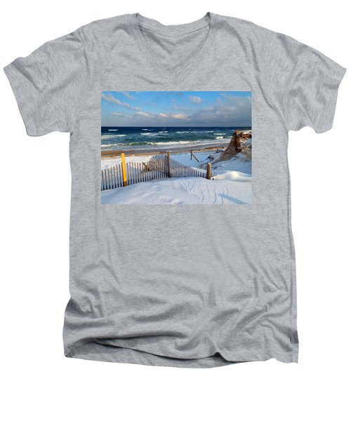 February Delight Men's V-Neck T-Shirt