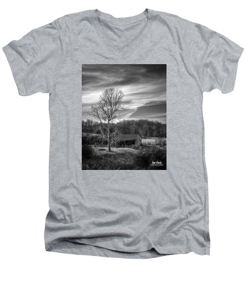 February Sky Men's V-Neck T-Shirt