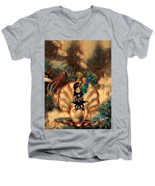 Feeling It All Men's V-Neck T-Shirt