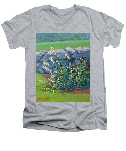 Fells Foxglove Men's V-Neck T-Shirt