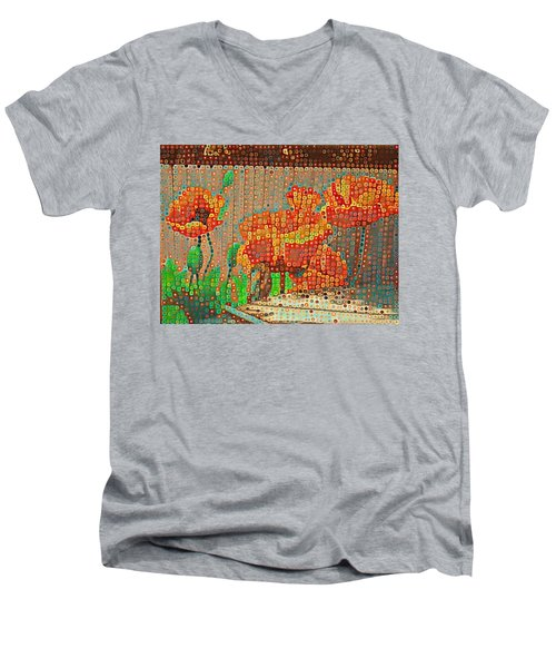 Fence Art Men's V-Neck T-Shirt