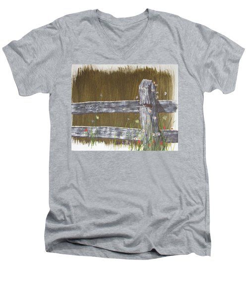 Fence D And S Men's V-Neck T-Shirt