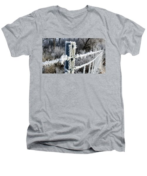 Fenceline Men's V-Neck T-Shirt