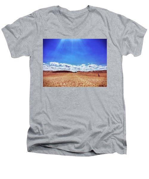 Fenwick Island State Park Men's V-Neck T-Shirt
