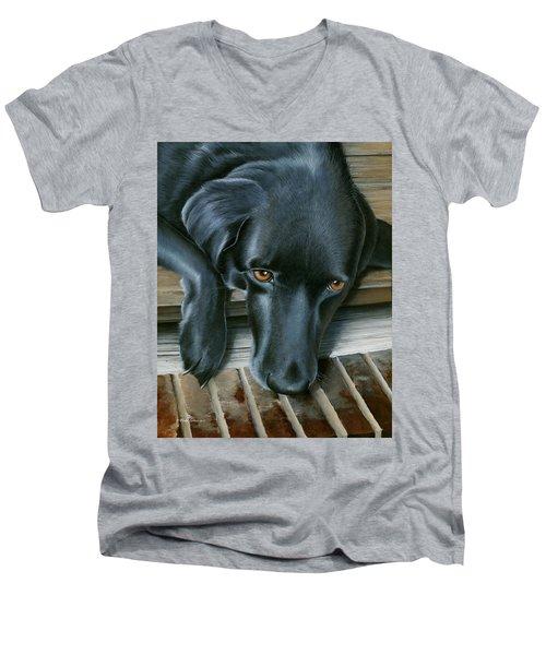 Fergie Men's V-Neck T-Shirt