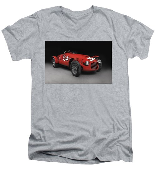 Ferrari 166 036  Men's V-Neck T-Shirt