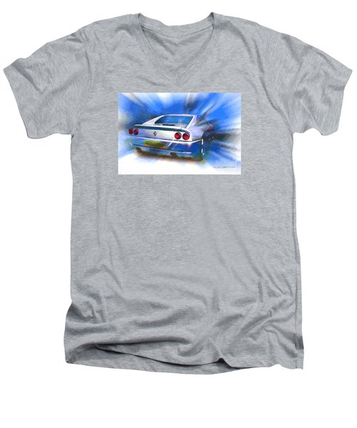 Ferrari 355 Berlinetta Men's V-Neck T-Shirt
