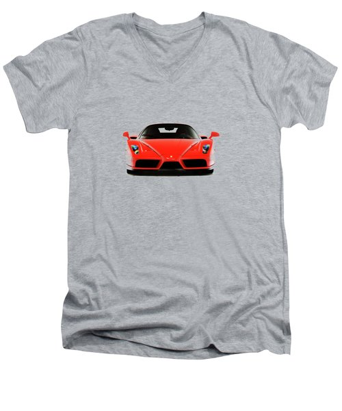 Ferrari Enzo Ferrari Men's V-Neck T-Shirt