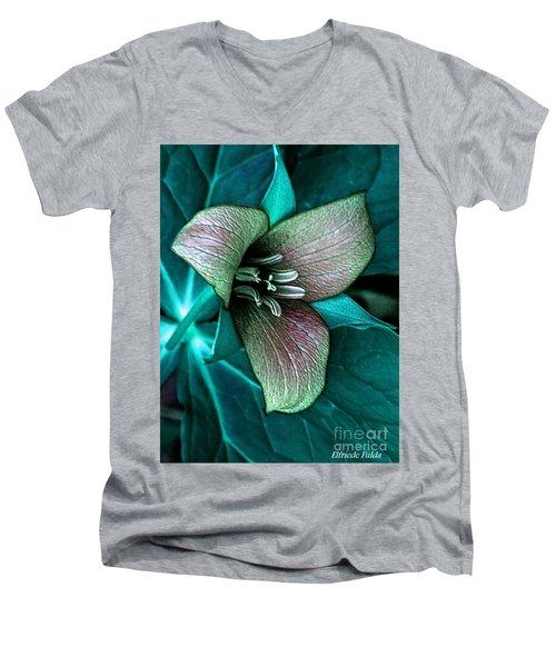 Festive Men's V-Neck T-Shirt