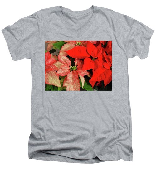 Festive Men's V-Neck T-Shirt