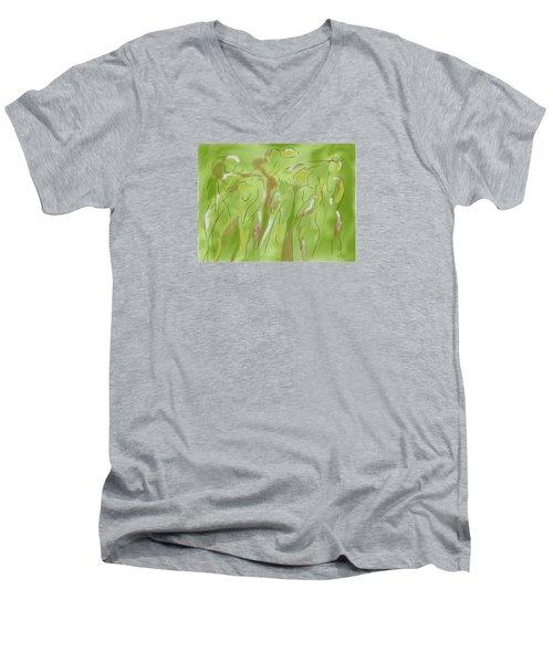 Few Figures Men's V-Neck T-Shirt
