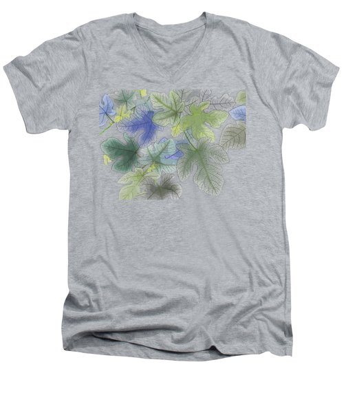 Ficus Carica Men's V-Neck T-Shirt