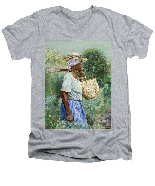 Field Day Men's V-Neck T-Shirt